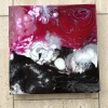 Acryl und Resin auf Leinwand, 40 x 40 cm