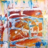 Acryl auf Leinwand 60x60 cm (Privatbesitz)