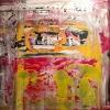 Acryl auf Leinwand 80x80 cm (Privatbesitz)