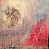 Acryl und Stoff auf Leinwand 80x60 cm