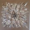 Acryl mit Stroh auf Leinwand 120x120 cm (Privatbesitz)