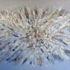Acryl mit Stroh auf Leinwand 120x80 cm (Privatbesitz)